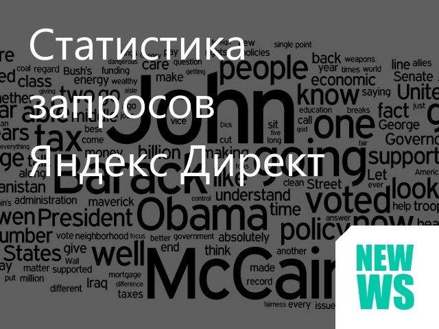 Статистика запросов Яндекс Директ