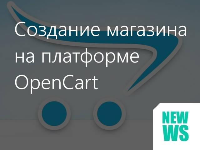 Создание интернет-магазинов на OpenCart
